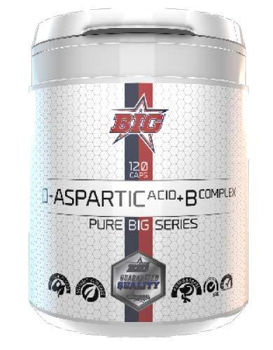 Big D-Aspartic Acid + B Complex Capsule 120 Cap 200 g