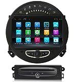 Sunshine Fly Android 9.0 Quad Core 1024 * 600 Pantalla táctil capacitiva 2 DIN Auto DVD GPS Radio Estéreo para Mini Cooper 2006-2013 GPS Audio DVD Player Bluetooth WiFi 3G