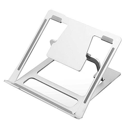 Huante Laptop Stand Height Adjustable Cooling Base Six Speeds Tablet Desk Holder Anti-Slip Base for Computer Riser