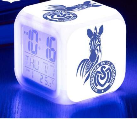 Zhuimin LED Digitale wekker / wekker 7 kleuren verlichte wekker kinderen geschenken 7 heldere kleuren klein alarm tafellamp
