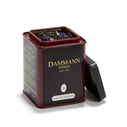 Pasticceria Passerini dal 1919 Dammann Earl Grey Yin Zhen - Té Negro con cítricos y bergamota, Lata de 100 gr - Dammann Frères