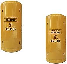 1R-0750 Fuel Filter for Chevy/GMC Duramax 2001-2016 LB7/LML/LMM Caterpillar 1R0750,Donaldson P551313,Baldwin BF7633,Fleetguard FF5320,Wix 33528 Caterpillar 1R0750 (Pack of 2)