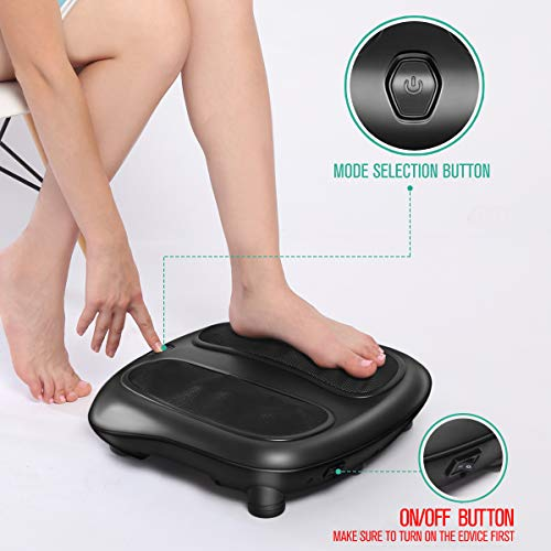 Nekteck Foot Massager with Soothing Heat
