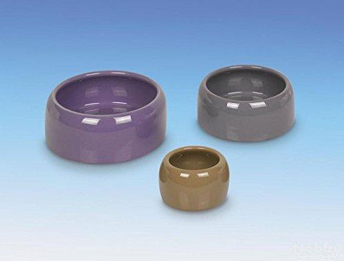 Nobby Keramik Futtertrog grau 500 ml