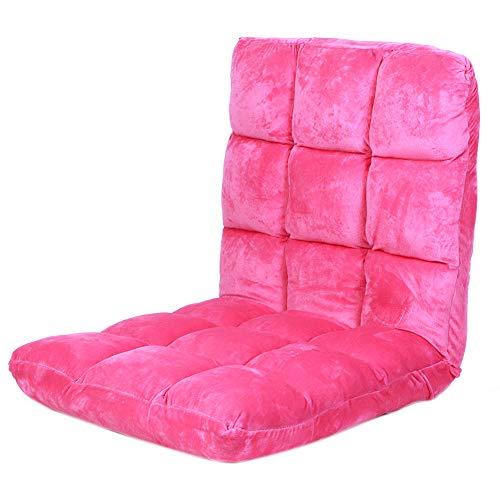 Ladieshow Piso Plegable sofá Silla Ajustable salón para Dormitorio Sala de Estar balcón Ventana mirador103x51x9cm