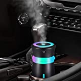 Best Car Diffusers - GENUIE USB Car Humidifier Diffuser, 300ML Cool Mist Review