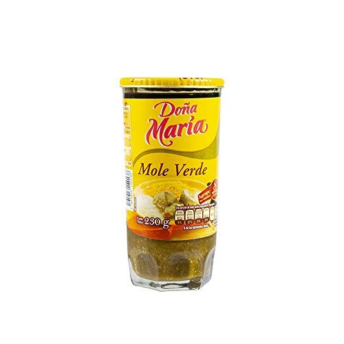 Grüne Mole-Sauce aus Mexiko, Glas 230g - Mole DOÑA MARIA Verde 230g
