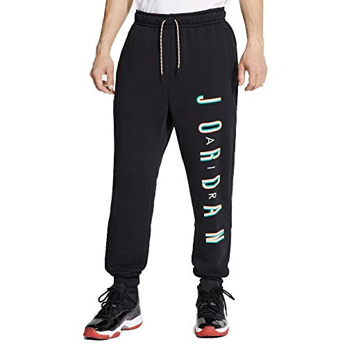 Nike Jordan Sportswear Jumpman Sport DNA Black/Hot Punch (XL), color negro