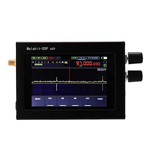 Berührender 3,5-Zoll-IPS-Bildschirm SDR-Empfänger 50 kHz-200 MHz / 50 kHz-200 MHz, 400 MHz-2 GHz (optional) AM/SSB/NFM/WFM Ana-log-modulierte