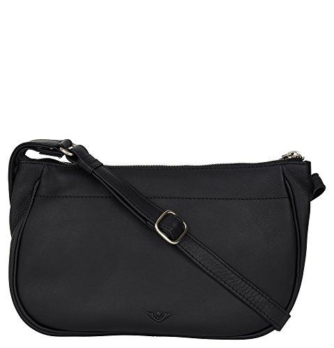 Voi RV-Tasche Estelle Soft 21504 Rindsleder Damen: Farbe: schwarz