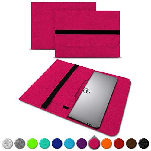 UC-Express Sleeve Hülle für Dell XPS 13 9380 9370 9360 9365 Tasche Filz Notebook Cover Laptop Hülle 13,3 Zoll Schutzhülle, Farben:Pink
