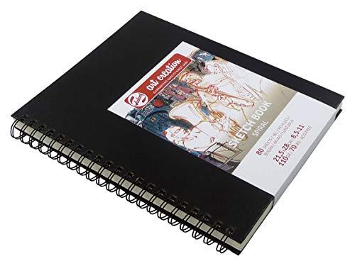 Talens Skizzenbuch Sketch Book, 80 Blatt mit Spiralbindung, 110 g/m², 21.5 x 28 cm