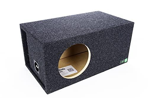 "Atrend SQ-10LSVDD Soundqubed-10 Soundqubed Single Vented SPL, Sounqubed woofer Specific Enclosure Certified, 10"""""""