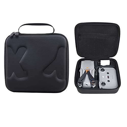Tragetasche für DJI Mavic Air 2S - Kompatibel mit Mavic Air 2 Fly More Combo, wasserdichte, stoßfeste Tasche für Mavic Air 2 / Air 2S, Fernbedienung und anderes Zubehör-Schwarz