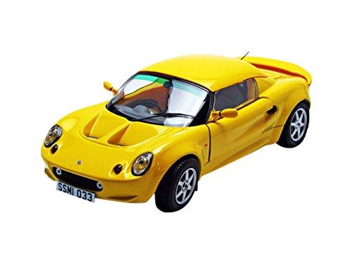 Lotus 1999 Elise 111S Yellow 1/18 Diecast Model Car by Sunstar 1033