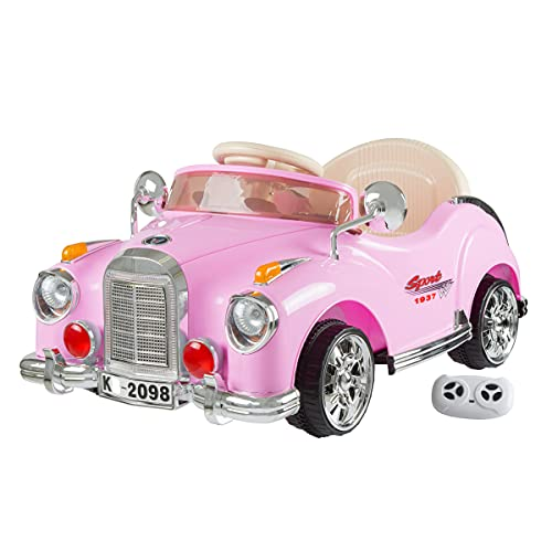 Lil' Rider Ride On Toy Car, Battery Powered Classic Car Coupe