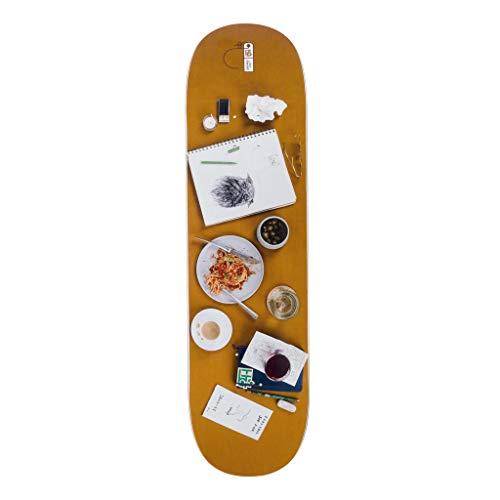 Habitat Skateboard Deck Stefan Janoski Place Setting (Multi)