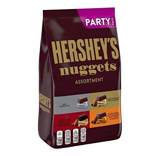 HERSHEY'S NUGGETS Assorted Chocolate Candy, Valentine's Day, 31.5 Oz. Party Bag