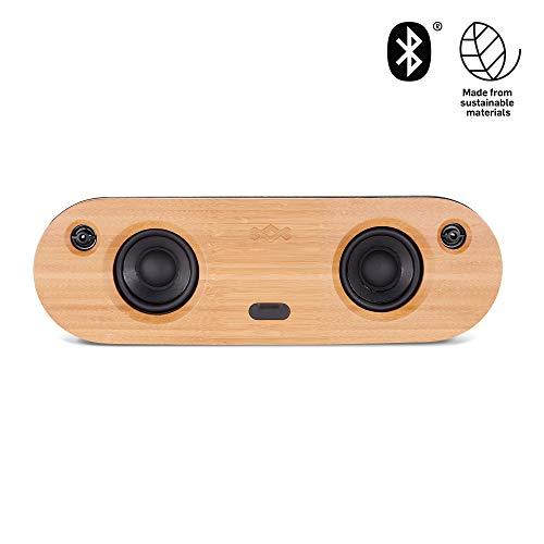 House of Marley Bag of Riddim 2, Bluetooth wireless Speaker, tragbare kabellose Lautsprecher Box, Audio Sound System für unterwegs, Aux-In, USB Port zum Aufladen externer Geräte, 10 Std. Akkulaufzeit