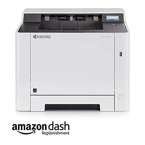 Kyocera Klimaschutz-System Ecosys P5021cdw Laserdrucker. 21 Seiten pro Minute. WLAN Farblaserdrucker inkl. Mobile-Print-Unterstützung. Amazon Dash Replenishment-Kompatibel