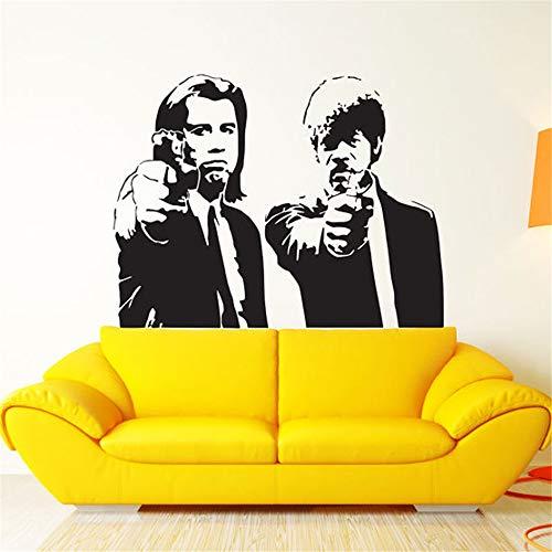 wandaufkleber 3d mond Pulp Fiction Movi Dekor Print Aufkleber Poster Pulp Fiction Poster Pulp Fiction Print Quentin Tarantino Samu