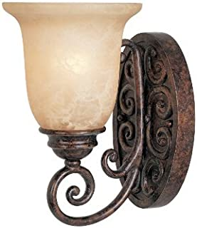 Designers Fountain 97501-BU Amherst Wall Sconce, Burnt Umber