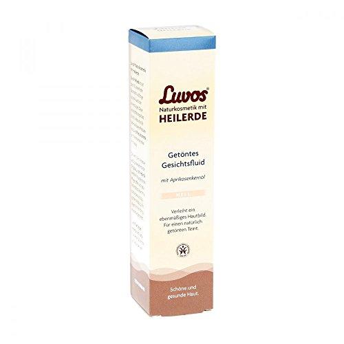Luvos Heilerde Getöntes Gesichtsfluid Hell, für einen ebenmäßig, strahlenden Teint, 1 X 50 ml -...