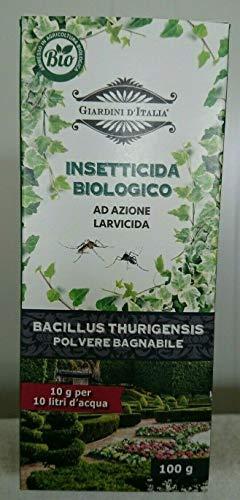 Chemia Insetticida Biologico per Piralide bossi e Altri Insetti Bacillus Thuringiensis Kurstaki 100g PFnPE