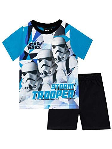 Star Wars Pijamas de Manga Corta para niños La Guerra de Las Galaxias Stormtrooper Multicolor 3-4 Años