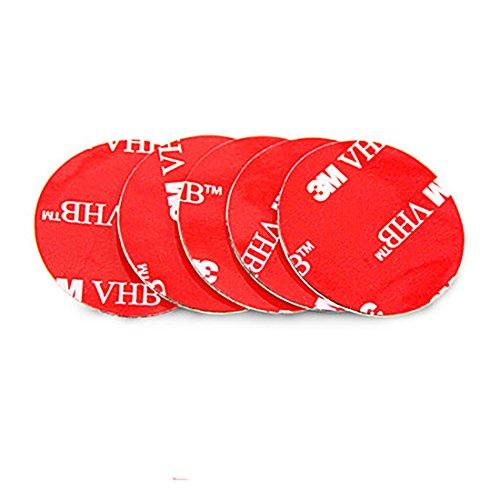 TyUan 両面テープ はがせる 超強力 粘着 壁 薄0.7mm 円形30mm #VHB21 グレー