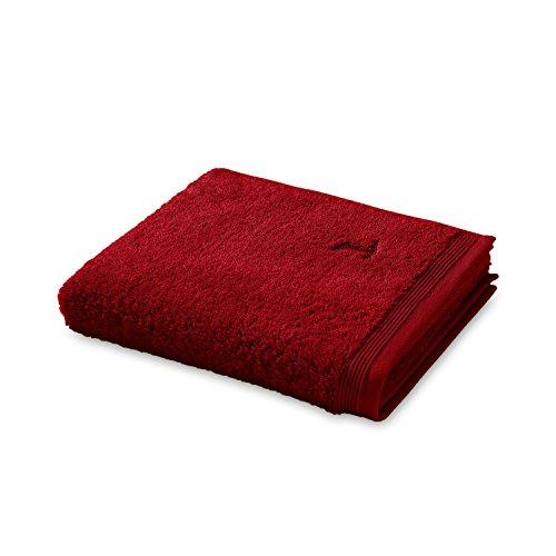 möve Superwuschel Handtuch 50 x 100 cm aus 100% Baumwolle, ruby