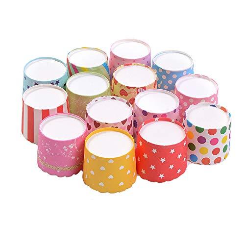 Ancdream 100 Pièce Taille Standard Caissettes A Cupcake Papier pour Muffins Gâteau Moule Décoration Mignon