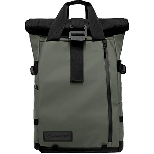 PRVKE Travel and DSLR Camera Backpack with Laptop/Tablet Sleeve - Rugged Photography Bag (31 L, Wasatch Green)
