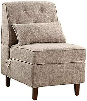Amazon.com: Hebel Alan Storage Accent Chair | Model CCNTCHR ...