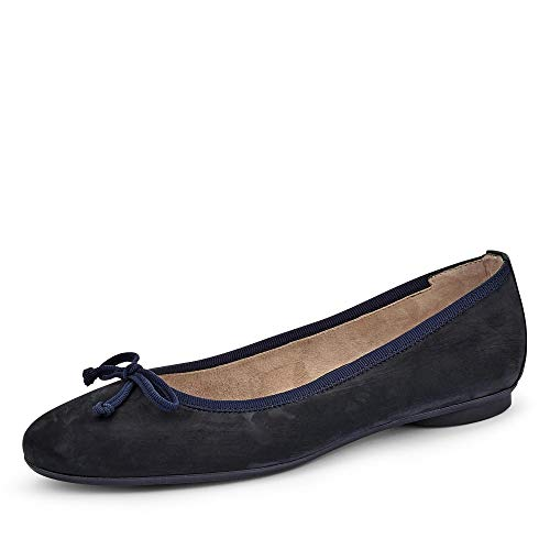 Paul Green 2598 Damen Ballerinas Blau, EU 40