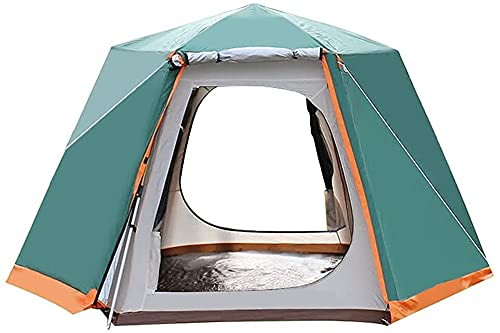 Tienda De Camping para 3-8 Personas, Impermeables Y A Prueba De Viento, Fácil De Instalar, Mochileros, Ventilados Y Adecuados para Viajes Al Aire Libre Y De Senderismo