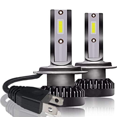Ampoules de phare, 2 pièces 9006 / HB4 800W 32000LM Lampe LED Kit ampoules de faisceau de phare de voiture 6000K super brillant