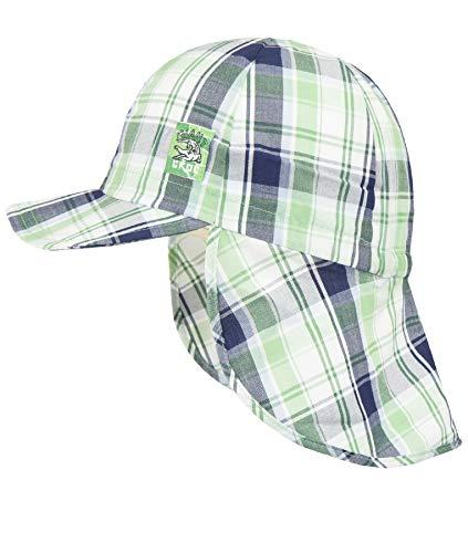 Döll Baby-Jungen Baseballmütze mit Nackenschutz Kappe, Grün (Greengage 5620), 49