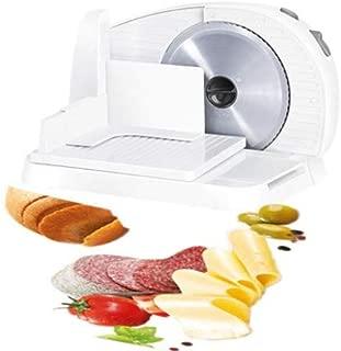 NEWTRY 電動スライサー 小型カッター 家庭用 多機能 パン、ハム、餅、果物、野菜、羊肉、牛肉用 スライス厚さ1-15mm調整可能 折り畳み式