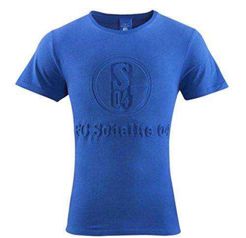 FC Schalke 04 T-Shirt Prägung Gr. M