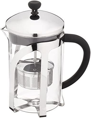 Ovente Glass Tea Maker with High Grade Removable Stainless Steel Infuser 27 Ounce Teapot with product image