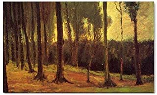 Edge of a Wood By Vincent Van Gogh Magnet