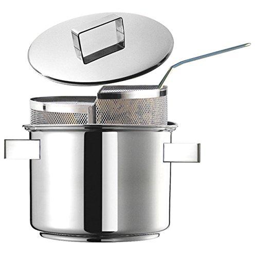 Inoxriv Duetto Juego Pasta Design Plus, Acero Inoxidable 18/10, diámetro CM. 24
