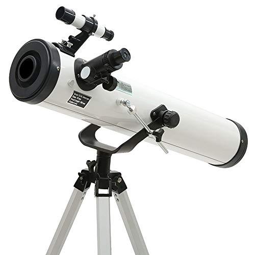 KK Zachary Teleskop Weiß Sternenteleskop HD Students Adult Welt Dual-Use-Sucherokular Monokulare 35-525 Zeiten