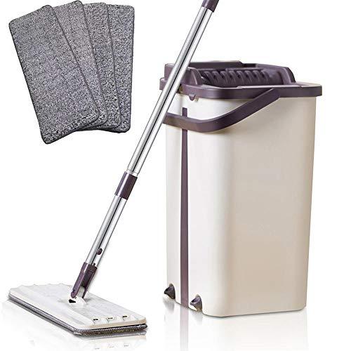 AGiao lange platte mop-handgreep voor vloerwissers met de hand en droog