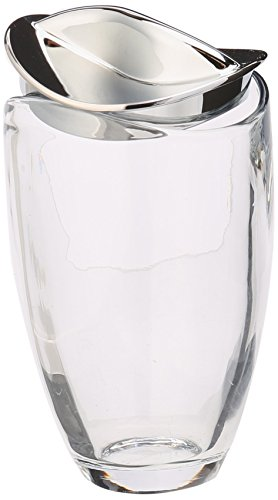 Nambe Butterfly Glass Jar, Tall
