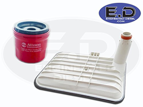 Genuine Allison Filter Kit 2001- Present - Internal Deep Filter (29542824) AND External Spin On Filter (29539579)