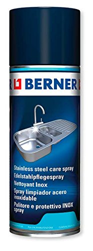 Berner 160366 Edelstahlpflegespray, 400 ml
