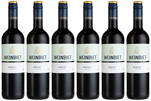 Weinbiet Manufaktur eG Acolon trocken rotwein (6 x 0.75 l), 601