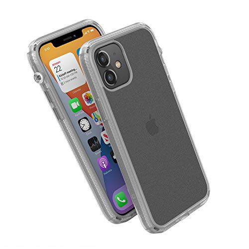 Influence Series Case Designed for iPhone 12/12 Pro, Compatible with MagSafe, Patented Rotated Mute Switch, Drop Proof, Crux Accessories Attachment System, by Catalyst - Clear